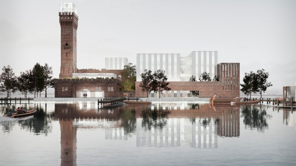 CGI of Liverpool City Region's Maritime Knowledge Hub Development