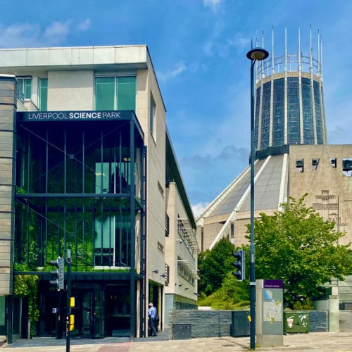 Liverpool Science Park exterior
